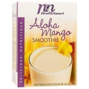 HealthSmart - High Protein Diet Fruit Smoothie - Aloha Mango
