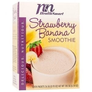 HealthSmart - High Protein Diet Fruit Smoothie - Strawberry Banana