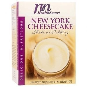 HealthSmart - High Protein Diet Pudding & Shake Mix - New York Cheesecake