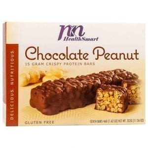 HealthSmart - High Protein Diet Bars - Chocolate Covered Peanut